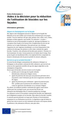 UBA Merkblätter Übersetzung FR