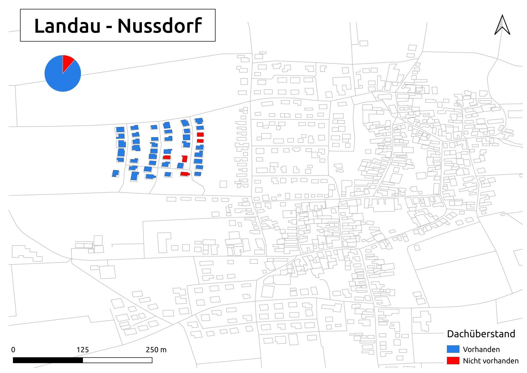 Biozidkarte Landau Nussdorf Dachüberstand DE