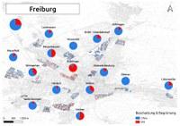 Biozidkarten Freiburg Übersicht+Einzelkarten Beschattung DE